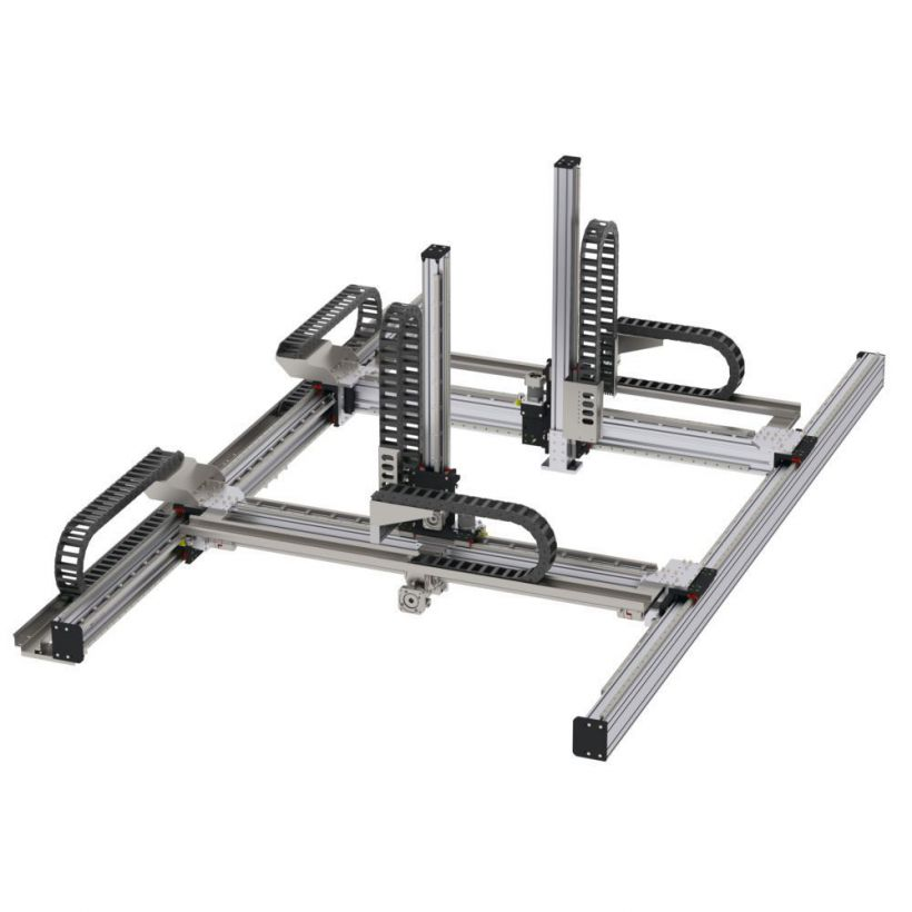 Sistemi Movimentazione Lineare Gantry - SG040.40